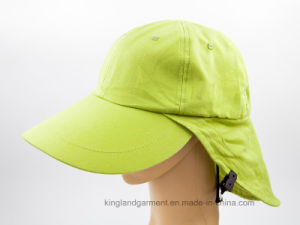 Micro Fiber / Mesh Working Cap with Flap, Fishing Cap pictures & photos