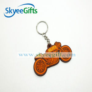 New Design with Photo Frame Soft PVC Keychain pictures & photos