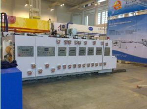 Fully Automatic Flexo Printing Slotting and Die-Cutting Machine pictures & photos