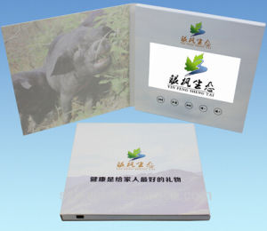 Factory Supply Customized LCD Video Greeting Card pictures & photos