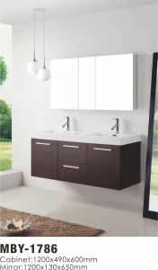 Modern MDF Bathroom Cabinet Vanity Cabinet pictures & photos