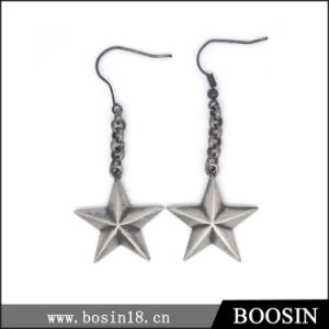 Fashion Vintage European Style Lucky Star Earring for Women #21596 pictures & photos