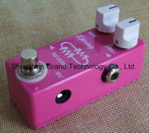 Chicklet Style Guitar Reverb Effect Pedal (JF-108) pictures & photos