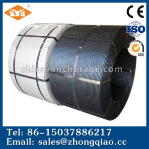 (Factory) Gr270 High Tensile Strength Low Relaxation 7 Wire Astma416 1860MPa 15.2mm PC Steel Wire Strand pictures & photos