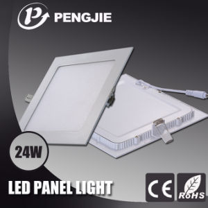 24W White LED Panel Light with RoHS (Square) pictures & photos