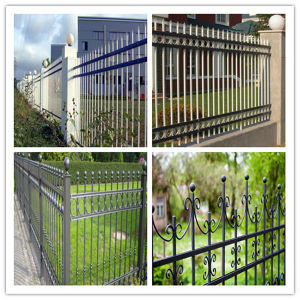 Factory Sale Good Quality Ornamental Wrought Iron Fence