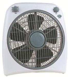 12inch Box Fan with 3-Speed Adjustable Fan 2-Hrs Timer