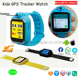 Hot Selling 3G Kids GPS Tracker Watch with Voice Call D18s pictures & photos