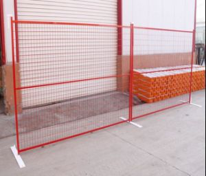 6ftx9.5FT Construction Temporary Fence/Canada Temporary Fencing/Fence Panel pictures & photos