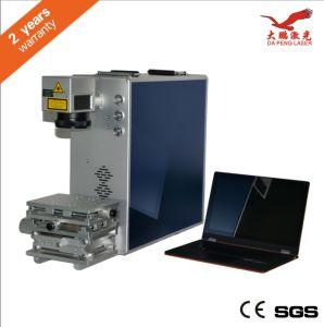 Portable Fiber Laser Marking Machine Adops Imported Fiber Machine pictures & photos