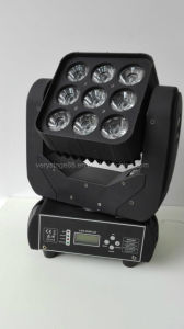 9 10W RGBW CREE LED Moving Head Beam Light pictures & photos