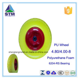 Polyurethane Wheelbarrow Wheel