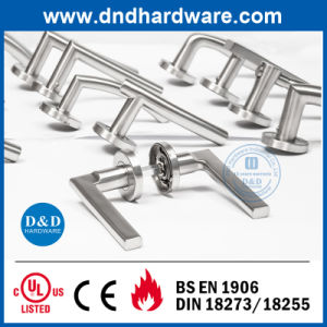 Solid Lever Square Solid Handle for Wooden Door (DDSH125) pictures & photos
