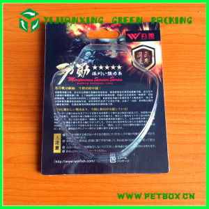 Hard Paper Card with Folding Edge Plastic Clamshell Blister Packaging pictures & photos