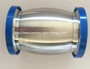 Stainless Steel Sanitary Check Valve Ball Type with Ferrule Both Ends and Manual Drain pictures & photos