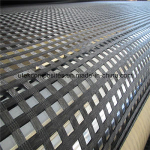 Polyester Uniaxial Geogrid with PVC Coating 60kn-1000kn pictures & photos