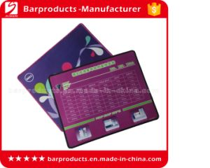 Custom Purple Polyester Rubber Printed Mouse Pad Wholesale