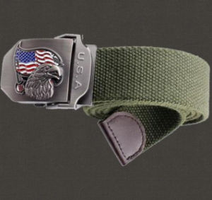 Cheap and Fine Military Elastic Army Webbing Belt (SYSG-244) pictures & photos