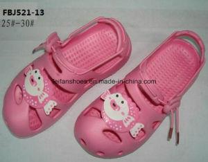 Fashion Children EVA Garden Shoes Slipper Shoes Beach Shoes Sandal Shoes (FBJ521-13) pictures & photos