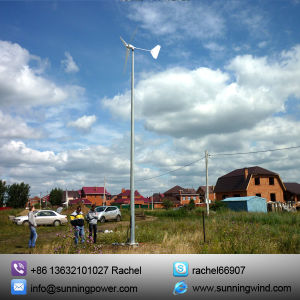 off-Grid Wind Solar Hybrid System Support 1000W Wind Turbine pictures & photos