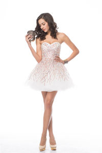 OEM New Design Sexy off Shoulder Prom Dresses pictures & photos