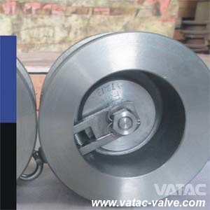 Spring Loaded Wcb/Lcb Swing Wafer Check Valve pictures & photos