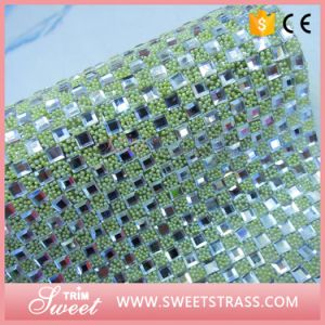Popular Style Wrap Roll Crystal Sheet Trimming for Decoration pictures & photos