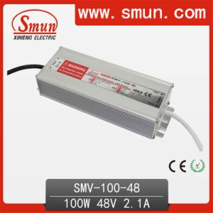 Smun 100W 48V Waterproof LED Power Supply with CE RoHS pictures & photos