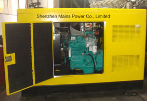 45kVA 36kw Standby Power Silent Type Cummins Diesel Generator pictures & photos