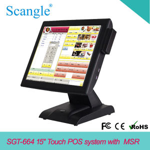 "Powerful 15"" All in One Touch POS Terminal for Fast Food pictures & photos"
