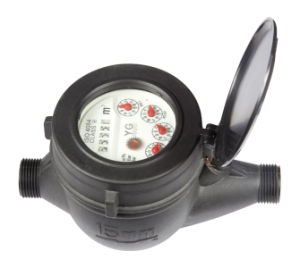 "Multi Jet Nylon Plastic Water Meter, Dry Type (1/2"" to 2"") pictures & photos"
