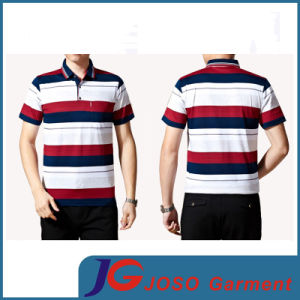 Latest Business Leisure Design Men′s Polo T-Shirt (JS9025m) pictures & photos