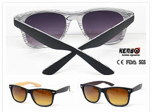 Hot Sale Unisex Fashion Wooden Finishing Sunglasses UV400 Kp50105 pictures & photos