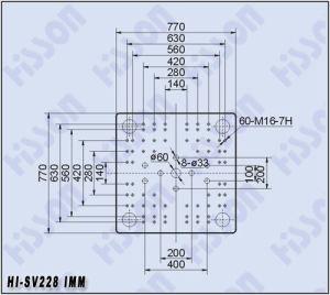 Servo Motor Plastic Injection Molding Machine 228t Hi-Sv228 pictures & photos
