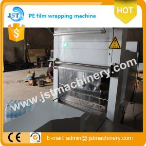 Semi-Automatic Plastic Bottle PE Film Packing Equipment pictures & photos
