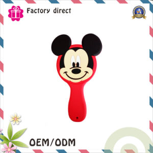 Customized Logo OEM fashion and Beautiful Round Hand Mirror of China Factory pictures & photos