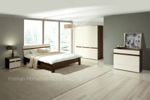 Hot Sell Modern Wooden Bedroom Furniture Set (HF-EY080411) pictures & photos