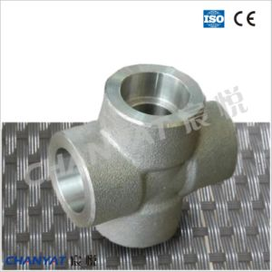 Stainless Steel Forged Fitting Cross En/DIN (1.4438, X2CrNIMo18164) pictures & photos