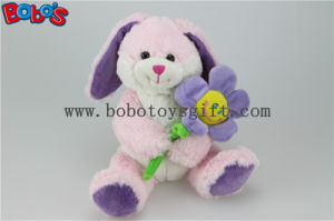 Blue Valentines Day Gift Plush Rabbit Animal with Sun Flower Bos1154 pictures & photos