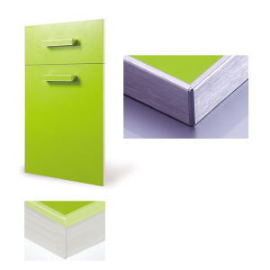 Aluminum Frame Gloss Door for Kitchen Cabinet (with aluminum frame) pictures & photos