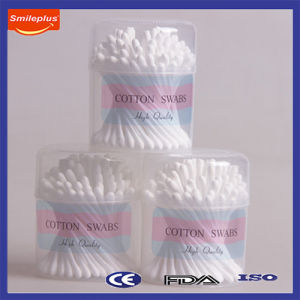 Beautiful Flower Shape Cotton Q-Tips for Gift Sale pictures & photos
