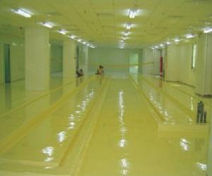Hualong Vinyl Anti-Corrosion Epoxy Floor Paint pictures & photos