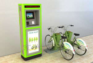 Public Bicycles-Olive Drab Ordinary Steel Square Pipe Single Locker pictures & photos