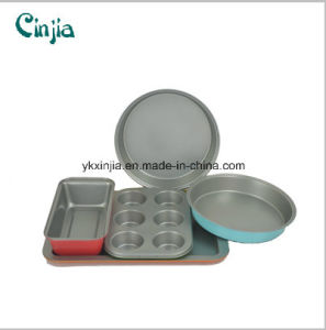 2016 New Design Carbon Steel Nonstick Bakeware Set Cookware pictures & photos