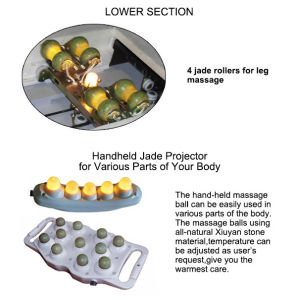Electric Whole Body Jade Thermal Massage Equipment pictures & photos