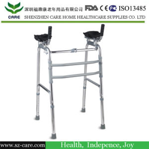 Reciprocating Medical Height Adjustable Frame Walker