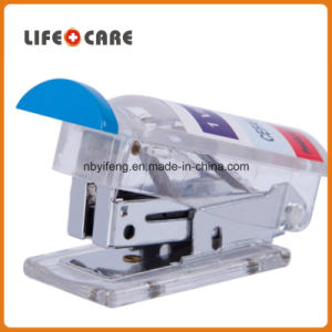 Promotional Mini Pill Shaped Stapler pictures & photos