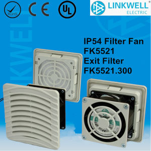 Good Quality Small Filter Fan for Panel Board (FK5521) pictures & photos