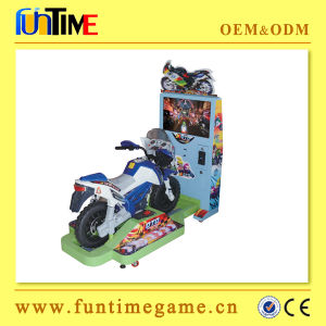 Sonic Kids Coin Operated Simulator Car Racing Arcade Game Machine pictures & photos