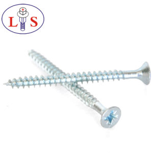 High Quality Carbon Steel Csk Head Cross Recess Screws pictures & photos